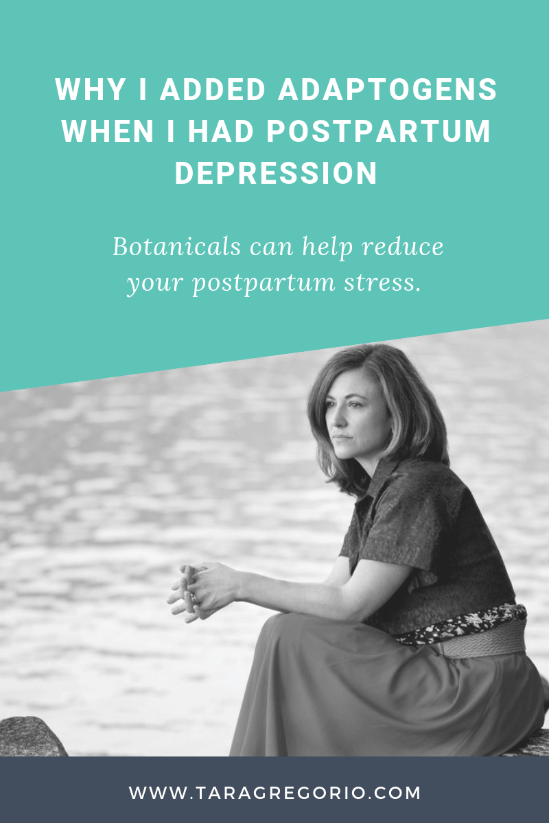 Why I Added Adaptogens When I Had Postpartum Depression. Botanicals can help reduce your postpartum stress.